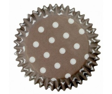 Caissettes cupcakes Polka...