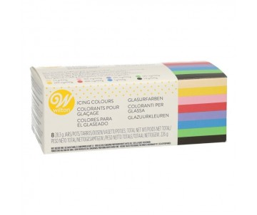 Colorant gel x8 - Wilton