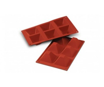 Moule silicone 6 pyramides...