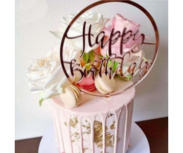 """Toppers """"Happy birthday..."""